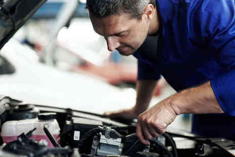 John Saint Automotive - MOT Test  59 Point Car Service or Both or Four Wheel Laser Alignment Service  - Save 0%