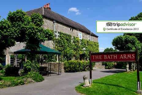 The Bath Arms - One night stay for Two including breakfast & late check out - Save 54%
