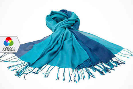 Catwalk Glamour - Double Layer Pashmina Scarf - Save 0%
