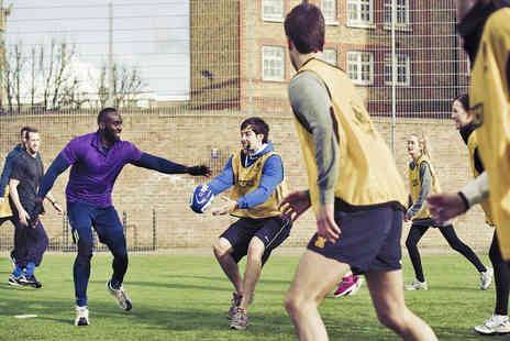 In 2 Touch - Eight Weeks of O2 Touch Rugby League Games with Two Coached Sessions - Save 44%