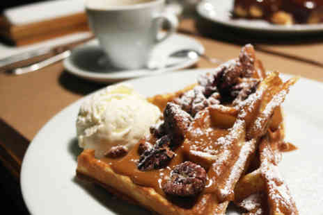 Wicked Waffle - Waffles or crepes with a hot drink each - Save 42%