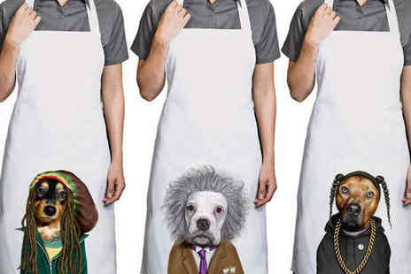 Printed Wardrobe - Pets Rock Apron - Save 25%