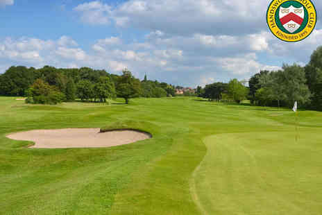 Handsworth Golf Club - 18 Holes of Golf for Two  - Save 68%