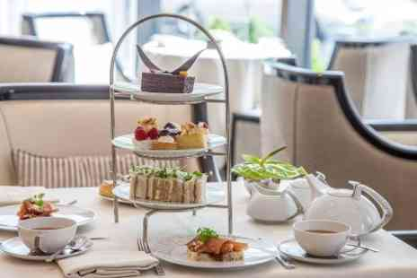 Wellington Lounge - Afternoon Tea With Champagne Cocktails For Two  - Save 50%