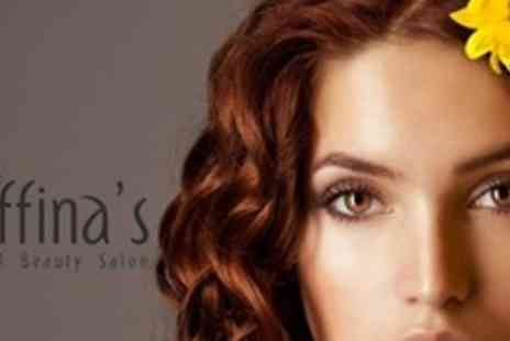 Saffina's Hair and Beauty Salon - Full Head Colour With Haircut, Blow Dry, and Reconditioning Treatment - Save 69%