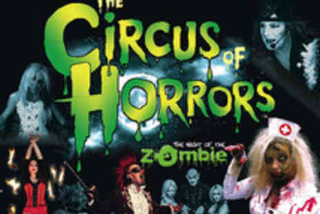 The European Events Corporation - One Ticket to Circus of Horrors for The Night of the Zombies - Save 52%