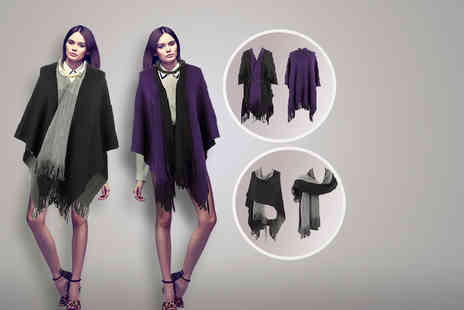 Stylla - Three in One cape, shawl and poncho - Save 36%