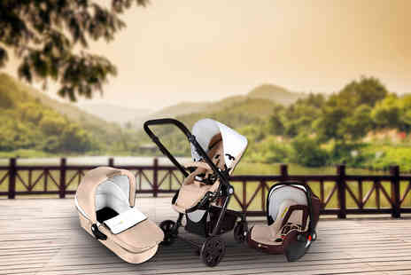 Fancy Suits -  KinderKraft  Three in One stroller - Save 53%