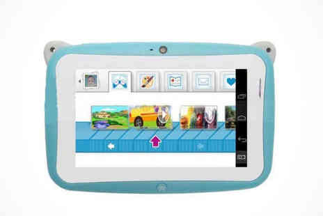 first kid shop - 4.3 inch Childrens Panda Android Tablet in Blue or Pink - Save 0%