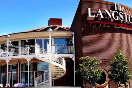 The Langstone Hotel - One Night stay For Two With Breakfast and Spa Access  - Save 58%