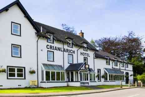 BEST Western The Crianlarich Hotel - Two Nights stay For 2 With Breakfast Plus Dinner  - Save 56%