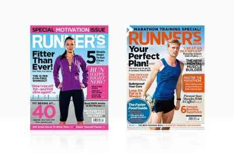Hearst Magazines - 12 Month Subscription to Runners World Magazine With Free Deliver - Save 57%