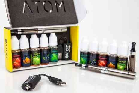 Compros Technical - Atom Vape E Cigarette Starter Kit  With Free Delivery  - Save 60%