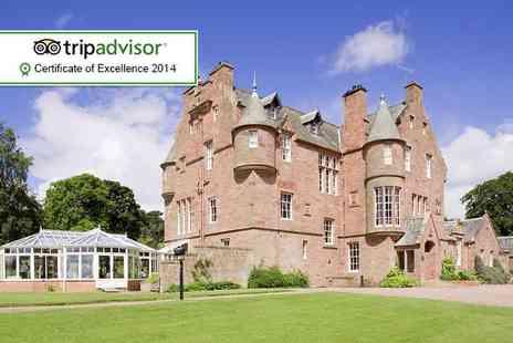 Cringletie House Hotel - Overnight Edinburgh break for two include a Three course meal - Save 0%