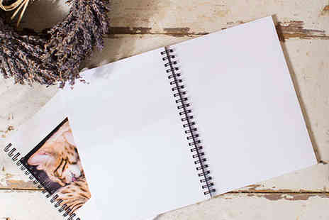 Personalised Spiral Bound Notebook - Personalised Spiral Bound Notebook Delivery Included - Save 0%