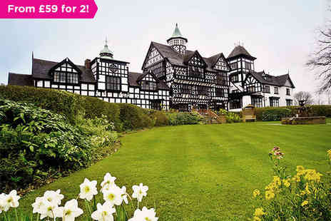 The Wild Boar Hotel - A Royal View of The Cheshire Plains - Save 39%