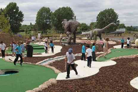 World of Golf - 18 Holes of Adventure Golf For Two - Save 44%