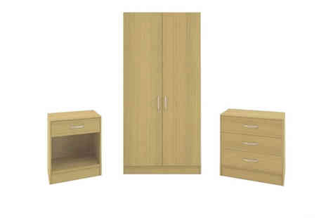 Mattress Shed - Three Piece Bedroom Furniture Set - Save 66%
