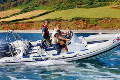 Anglesey Boat Trips - Choice of Two Powerboat Rides  - Save 56%