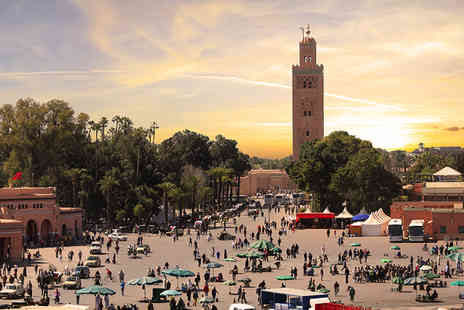 Travel Unravel - Two night full board Marrakech break including return flights - Save 24%