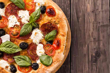Due Fratelli -  Two course Italian meal for Two including a starter and pizza each  - Save 63%