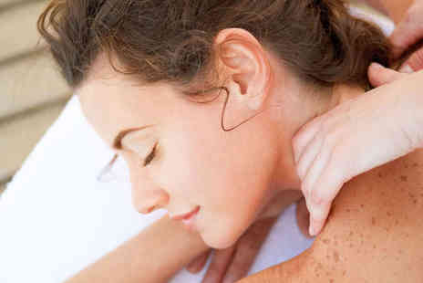 Clinic Visjeune - Back, Neck, and Shoulder Massage,  Hot Stone Back Massage  - Save 50%
