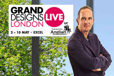 Grand Designs Live - Two Tickets to Grand Designs Live with Show Guide  - Save 35%