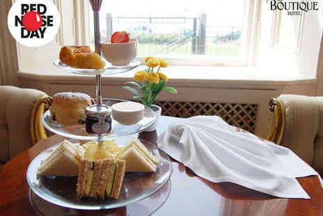 The Cottonwood Boutique Hotel - Afternoon Tea for Two with a Glass of Prosecco Each - Save 0%