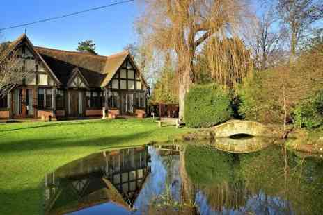 Langshott Manor - One night  Stay For Two With 5 Course Tasting Menu  - Save 0%