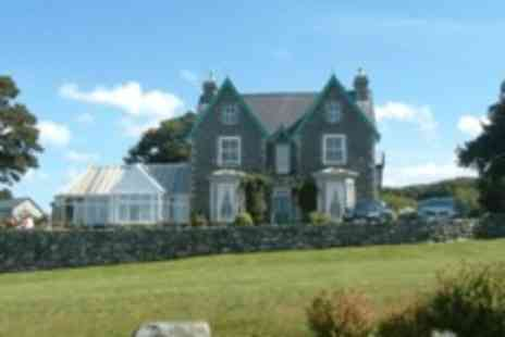 Hotel Ael y Bryn Hotel - One night stay for 2 B&B, including dinner, liquor and chocolates overlooking Cardigan Bay - Save 0%