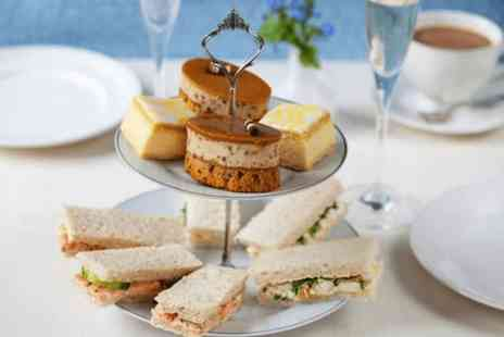 Tea on the Wall - Prosecco afternoon tea for two - Save 0%