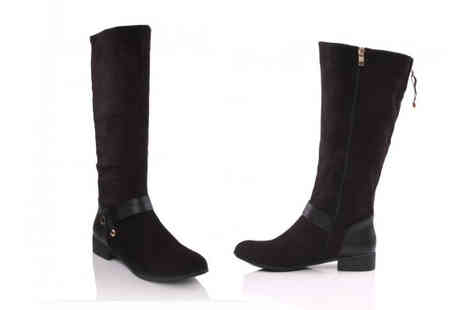 Unze - Choice of Ladies Long Boots - Save 53%