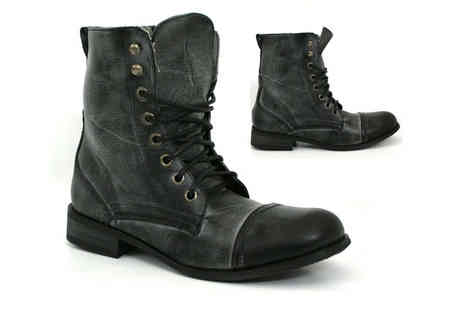 Shuzee - A Choice of Womens Military Boots - Save 0%