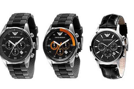 designer posh watches - Choice of Emporio Armani Mens Watches - Save 43%