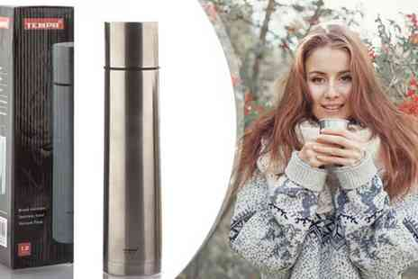 Home accessories - Two Tempa Stainless Steel Flasks - Save 40%