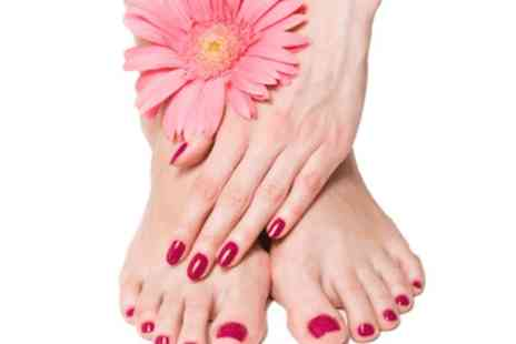 Talk of the Town Beauty -  Gelax mani and pedi - Save 0%