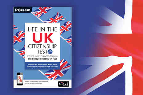 eOutlet -  Life in the UK British citizenship test CD - Save 67%