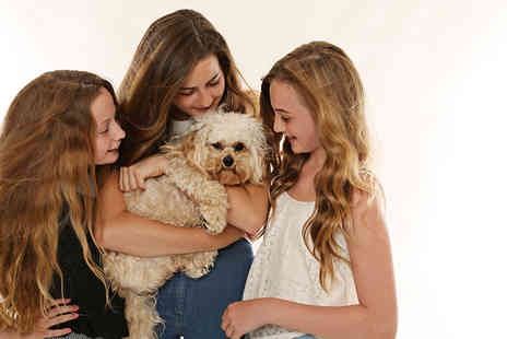 "Icon Photography - One hour family or pet photoshoot including one 8"" x 10"" print to take home   - Save 0%"