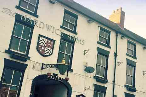 Hardwick Arms Hotel - One Night stay For Two With Dinner  - Save 0%