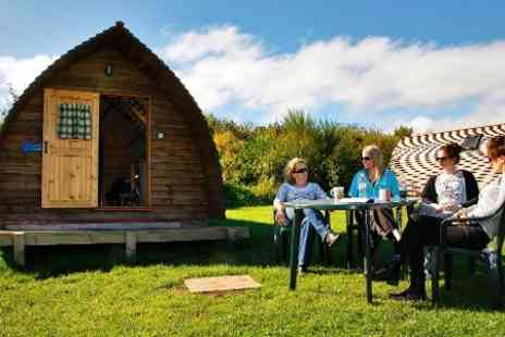 Pot a Doodle Do - Two Night Wigwam Stay For 2  - Save 61%