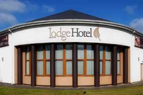 The Lodge Hotel - One Night Break With Dinner, Cocktail and Breakfast  - Save 35%