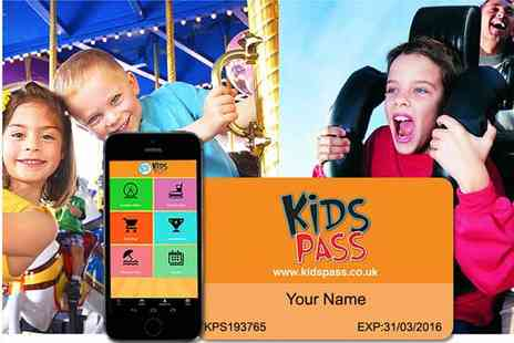 Kids Pass - Kids Pass for Great Family Savings at UK Top Attractions - Save 52%
