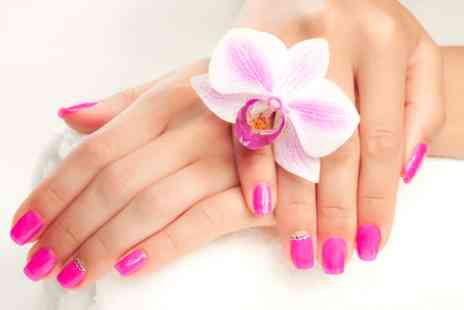 Fusion Hair, Beauty and Nails -  Shellac gel polish manicure or pedicure - Save 0%