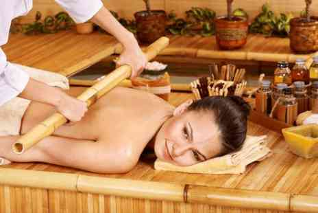Beauty Bubble - One hour full body bamboo massage - Save 0%
