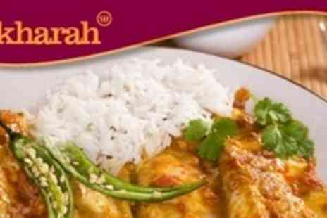 Bukharah Restaurant - Two Courses of Indian Cuisine For Two With Glass of Wine - Save 63%