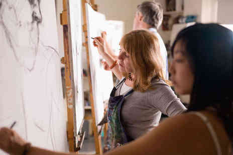 Learn2Sketch - Three Hour Beginners Art Class for One  - Save 54%