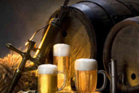 Lancaster Brewery - Lancaster Brewery Tour with Beers and Food for Two - Save 57%