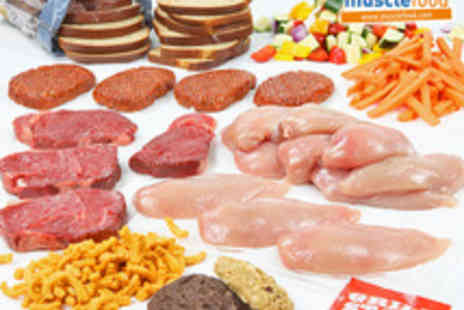 Muscle Food - Multi Award Winning Fresh Lean Meat and Vegetable Hamper including Chilled Delivery - Save 40%