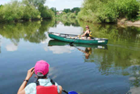 Wye Canoes - One Day Canoeing and Trekking Experience with Breakfast - Save 66%