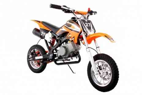 STO Racing Products - 49cc Off Road Mini Motocross Bike With Free Delivery  - Save 42%